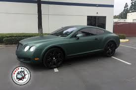 bentley black matte matte green bentley car wrap wrap bullys