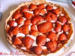 larousse cuisine dessert tarte aux fraises version montage grâce au larousse des desserts