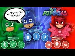 u0027s play u201cpj masks u201d super power game gekko owlette u0026 cat boy