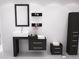 Bathroom Vanity With Drawers On Left Side Scorpio Bath Vanity Bathgems Com