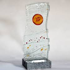 glass trophies plaques medals galleries glass forming maja