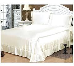 White Silk Bedding Sets Cheap Silk Bed Sets Hoodsie Co