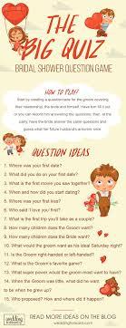 bridal shower question 9 the best bridal shower wedding forward