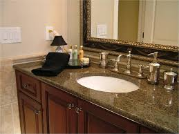 Bathroom Countertop Organizer by Seamless Counter Top With Crema Bordeoux Granite Also L Shape