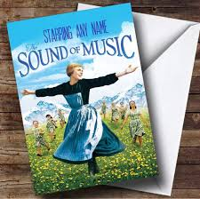 spoof the sound of music movie film poster personalised birthday