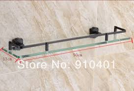Bronze Bathroom Shelves Wholesale And Retail Promotion New Fashion Wall Mounted Rubbed