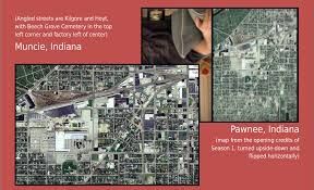Map Of Michigan City Indiana by Pawnee Maps Parks And Recreation Wiki Fandom Powered By Wikia
