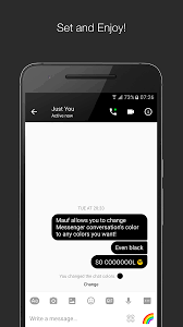 mauf messenger color u0026 emoji android apps on google play
