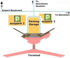 Map Houston Airport Airport Parking Map Houston Hobby Airport Parking Map Jpg