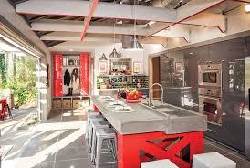 garage door for kitchen cabinet dated kitchen goes modern with a 16 wide garage door