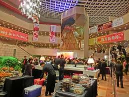 file hk tst 香港文化中心 hong kong cultural centre interior night