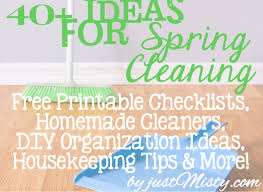 springcleaning 40 spring cleaning housekeeping u0026 diy household organization ideas