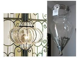 How To Make A Sconce Light Fixture How To Diy A Moroccan Votive Holder Into A Swag Lamp The Home