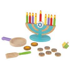 hanukkah toys kidkraft chanukah playset 62905 the home depot