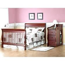 mini crib and changing table crib with changing table luxury cribs with attached changing table