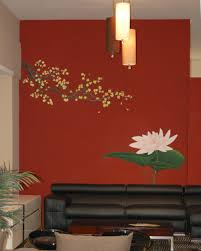 living nice decorative wall stencils ideas style of decorative