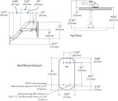 Mx Desk Mount Lcd Arm Wall Mount Monitor Arm Ergotron 45 228 026 Mx