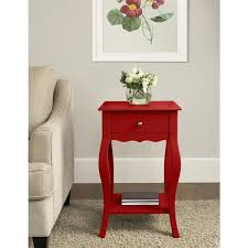 Small Accent Table Ameriwood Home Kennedy Small Accent Table Free Shipping Today