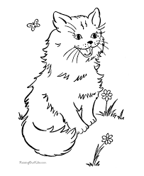 cat 22 cats coloring pages teens adults littlest pet