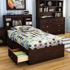 twin bed with drawers and bookcase headboard twin bookcase bed miraculous living room decoration alluring cherry