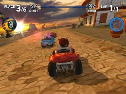 monster truck video games beach buggy racing for android download