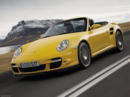 Porsche 911 Yellow - porsche 911 turbo cabriolet 2008 pictures information u0026 specs