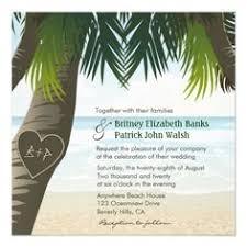 palm tree wedding invitations lights tropical palm tree wedding invite set palm tree