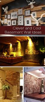 Cool Ideas For Basement 20 Clever And Cool Basement Wall Ideas Hative