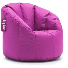 Outdoor Bag Chairs Big Joe Milano Bean Bag Chair Multiple Colors Walmart Com