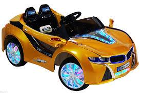 Bmw I8 Orange - 2016 bmw i8 12 volt battery powered electric ride on kids toy car