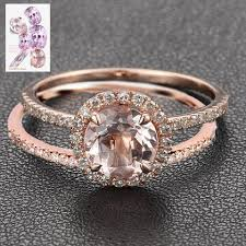 morganite gold engagement ring custom morganite engagement rings wedding rings logr lord of