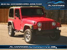 2004 jeep wrangler sport used 2004 jeep wrangler for sale jackson tn