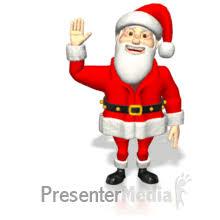 animated santa santa waving md wm gif