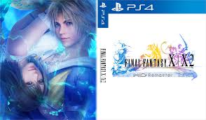 final fantasy 10 2 strategy guide final fantasy x x 2 hd custom cover for ps4 by shonasof on deviantart