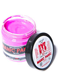 Where To Buy Pink Cotton Candy Manic Panic Cotton Candy Pink Classic Hair Dye Dolls Kill