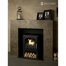 wood burner style traditional bioethanol stove
