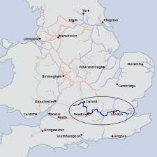 thames river map europe thames river england european waterways eu description of