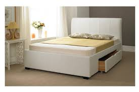 white bed frames with storage bed frames ideas pinterest bed