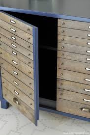 Multi Drawer Wooden Cabinet The Painted Hive Easy Diy Faux Multi Drawer Cabinet Hack U2026using