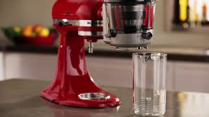 Artisan Kitchenaid Mixer by Mixer Artisan Kitchenaid Cu Accesoriu Pentru Suc Si Sosuri Youtube