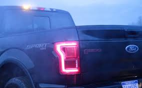 2016 f150 led tail lights ford to offer factory installed led strobe warning lights on f 150