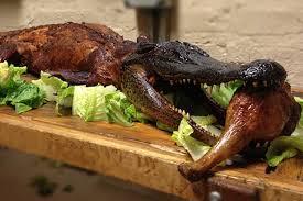 turkey this restaurant serves an entire alligator for