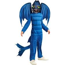 Baseball Furies Costume Halloween Train Dragon Night Fury Child Halloween Costume