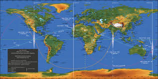 07 World Map by The Lunar Planner Fire The Grid