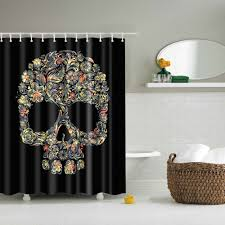 Beautiful Shower Curtains by Beautiful Shower Curtains With A Grayish Silver Printed Design