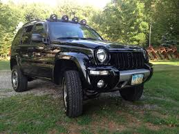 lifted jeep liberty our liberty renegade ome springs bilstein shocks terraflex