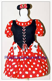 miss mouse halloween costume plus size and super size halloween