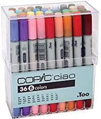copic sketch markers 36 color set