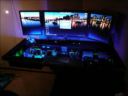 Custom Desk Computer Built In Computer Desk Custom Built Computer Desk Inspiring Custom
