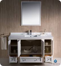 54 Bathroom Vanity Double Sink Fresca Oxford 54
